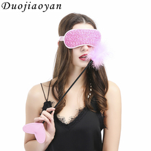 Wholesale Custom Fetish Lace Tools Bondage Fetish Eye Mask Restraint Sex Toy Mask Rose Flower Blindfold