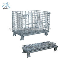 zinc plated storage wire cage