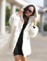 2016 Winter New Arrival Genuine Mink Fur Coat For Elegant Women