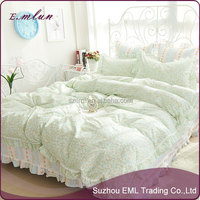 sample provided bed linen for home,hotel bedclothes luxury bed linen set supplier,high quality queen bed set hote EML-12-W10018