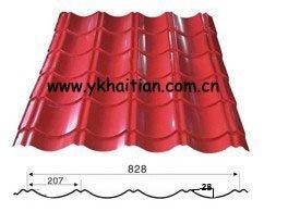 Glazed tile Metal Roofing Sheet Rolling Forming Machine