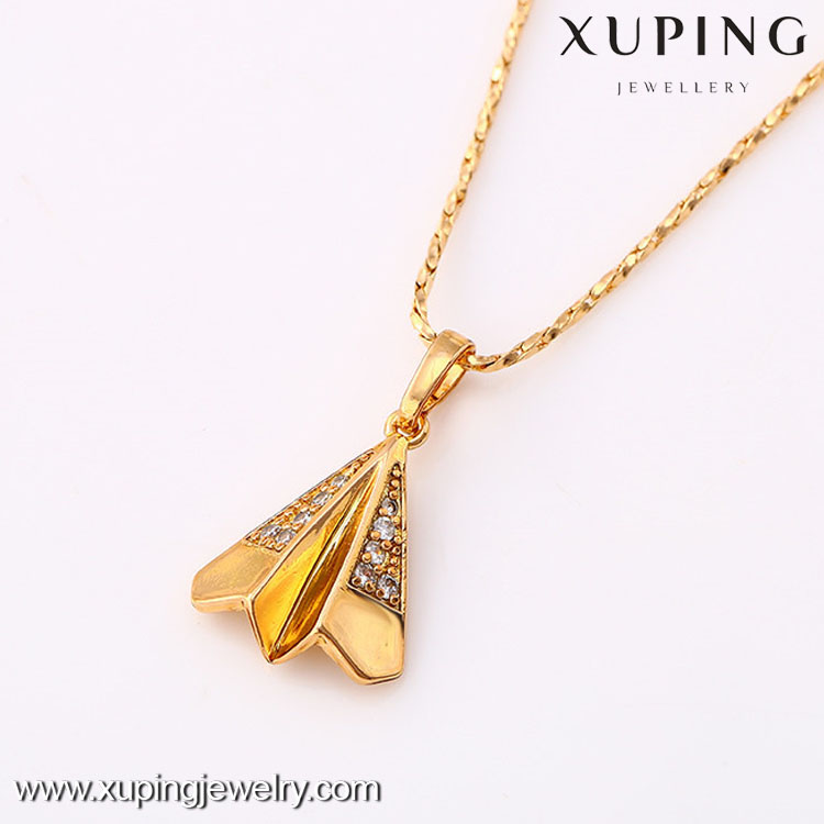 31447 xuping18k gold color import jewelry pendant from china