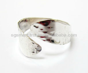 Silver 925 ring Jewelry wholesale factory in Thailand.