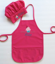 childrens cotton apron baking set