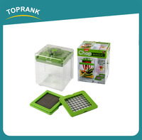 Toprank Free Sample Provide New Design Plastic As Seen On TV Slicer And Chopper,Magic Vegetable Chopper With 6 Cup Container