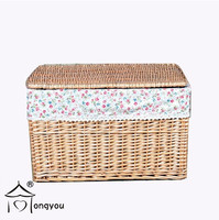rattan laundry hamper cloth laundry basket