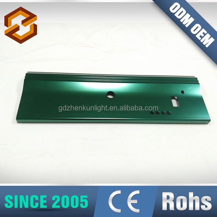 Factory Supplier Anodizing Treatment Aluminum Extrusion Housing