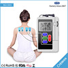 2017 new arrival 2 channels flashlight 4 electro pads back pain tens unit