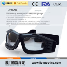 Protective basketball safety goggles