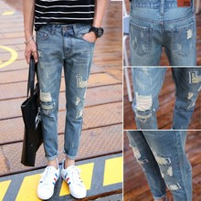 Fashion New Style Pants Men Rodi Ripped Loose Casual Jeans Taiwan Online Shopping