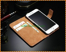 New Arrival Leather Wallet Case for iPhone 7plus, PU Leather Cell Phone Case for iPhone 7plus