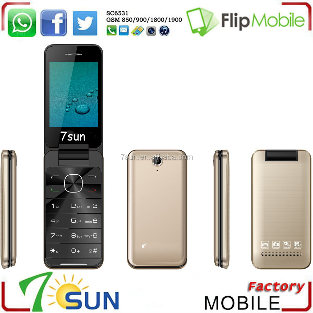 2016 new hot 2012 flip cell phone