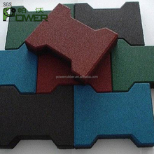 Wholesale Top Quality recycled rubber pavers lowes