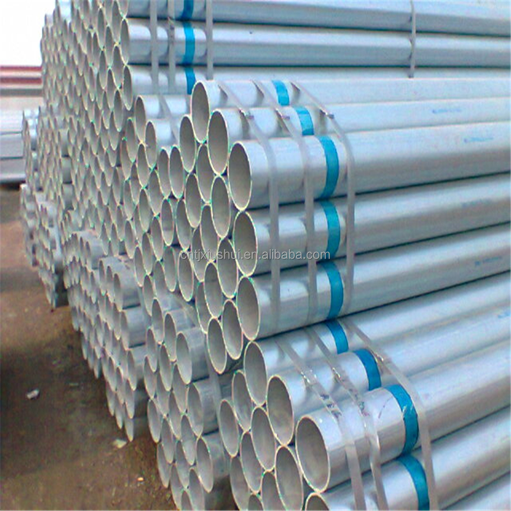 irrigation hot dipped galvanized pipe low moq / high frequency steel tube welding machine for greenhouse