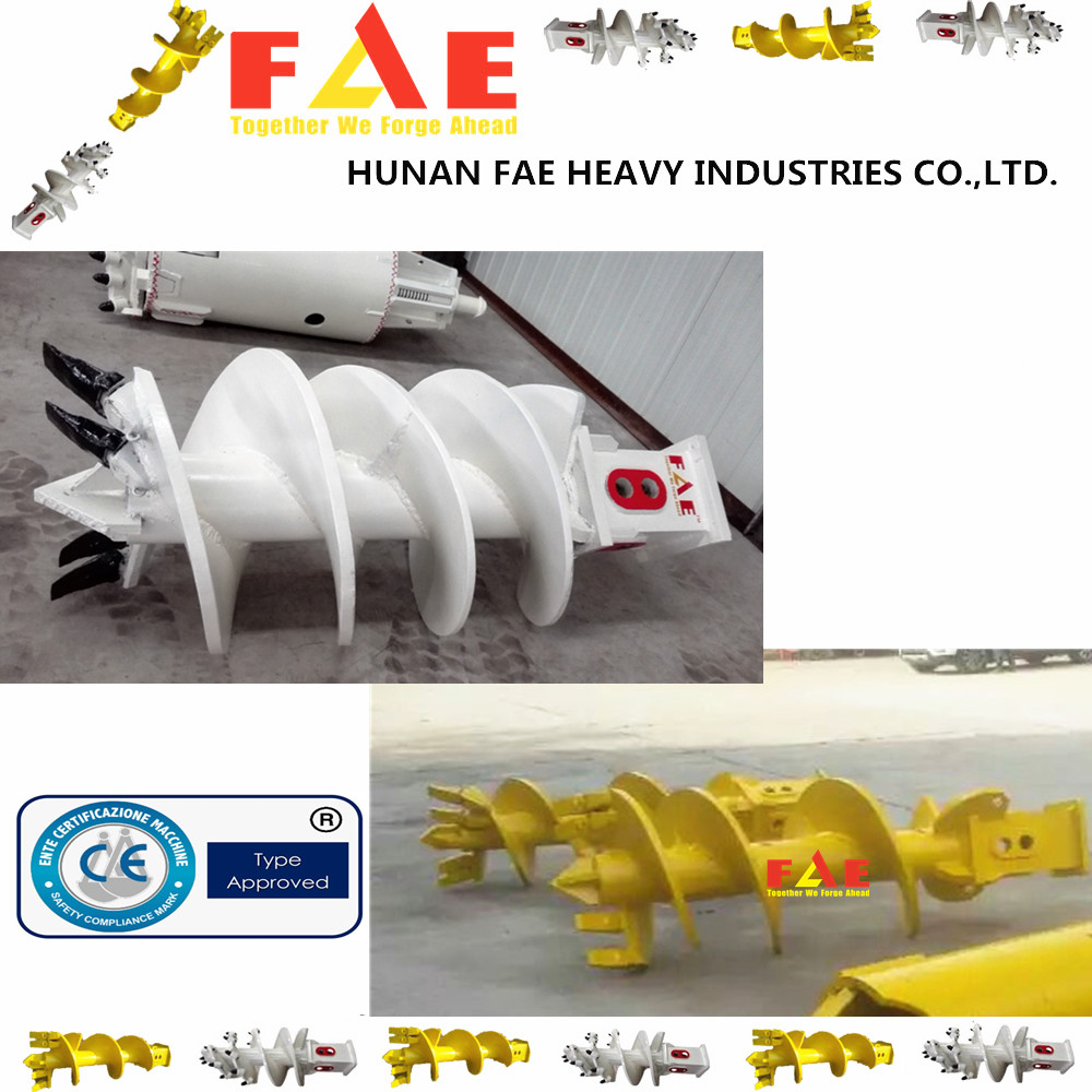 Single Cut Carry Flat Rock Auger For Bauer Rotary Drilling Rig