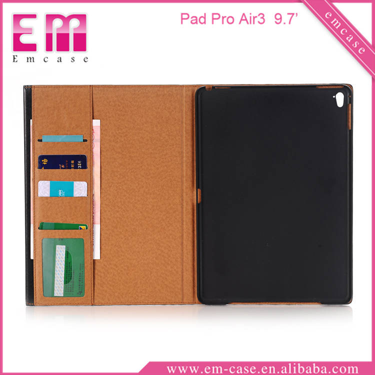 For iPad pro book cover leather case for iPad pro 9.7inch