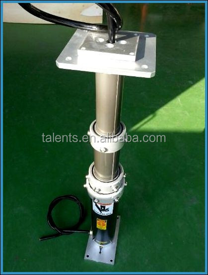 PORTABLE TELESCOPIC MASTS 200Kg HEADLOAD mast,PORTABLE TELESCOPIC MASTS