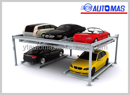 hydraulic Mechanical Car Lift/ small car parking lift for garage/automated parking system