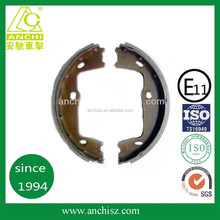 auto spare parts semi-metal rockwell CD70 brake shoe for volvo