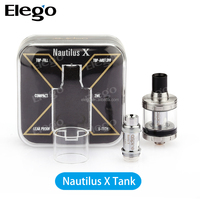 Alibaba Express 2016 New Aspire Nautilus X tank 2ml atomizer 1.5ohm u-Tech coil updated Nautilus X Tank