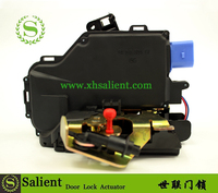 WHOLESALE Auto parts 4e1837016 4h1837016 / A8 front right black plastic and iron 12V car door lock actuator