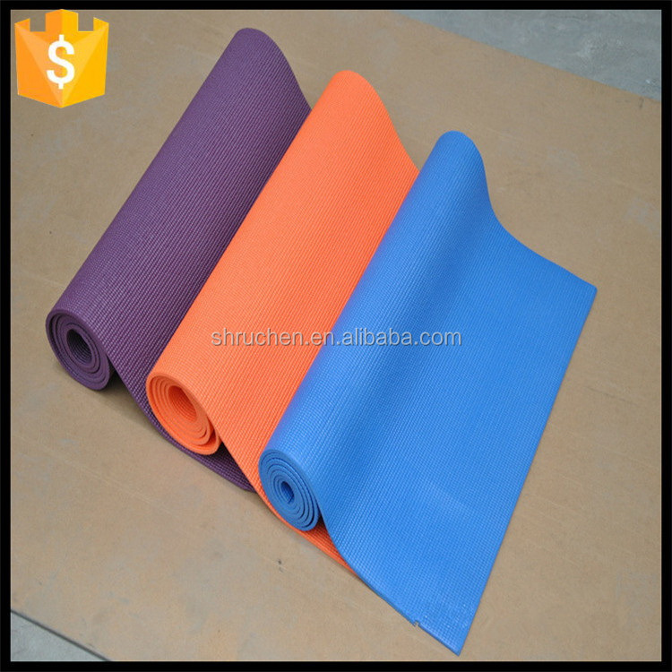 Durable service new coming eco friendly custom printed pvc yoga mat