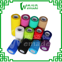CE Approved Medical Elastic Cohesive Bandage With Luminous Colours