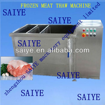 stainless steel frozon meat thawing machine 0086-18638277628