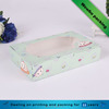 Food grade rectangle dessert box with clear window