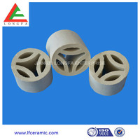 Ceramic trifoliate rings for chemical and industrial packing price
