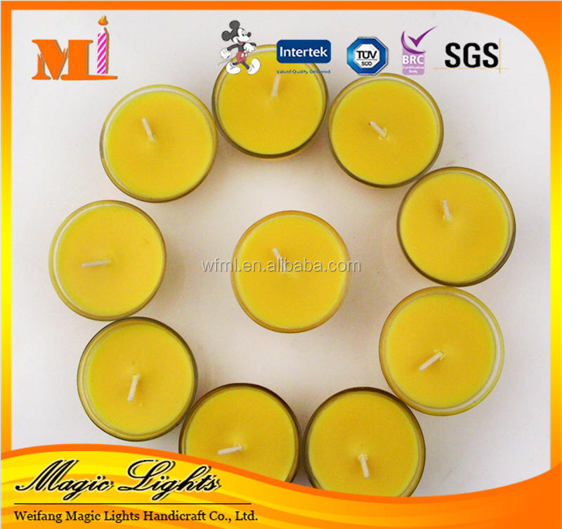 Delicate Heart Shaped Tealight Candle Kids Liked With Wholesale Price