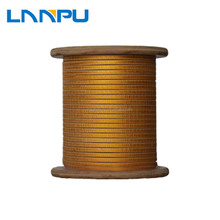Covered Winding Rectangular Fiberglass Wrapped Wire