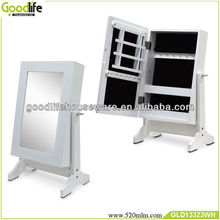 wall mount and foot standing small jewelry box GLD13323