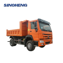 China top sale 290hp howo dump truck 4x2 with good price for sale