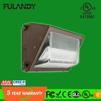 2016 waterproof Led wall pack 60w replace 200w MH lights with DLC UL listed