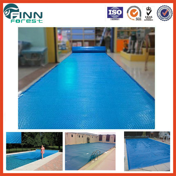 Thickness 500um bubble blue color water pool cover swimming pool winter cover