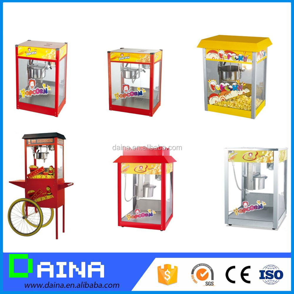 daina New style CE approved hot sale industral popcorn machine