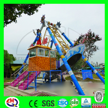 Good feedback and reasonable price exciting swing boat game spring ride
