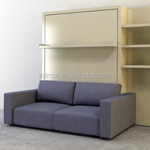 Innovation storage sofa wall bed hidden bed cabinet wardrobe steel beds