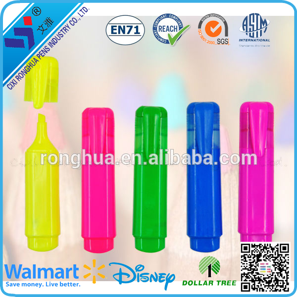 2015 hote sale promotion3 in 1 highlighter pen from china