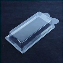 clear disposable plastic thermoform card blister packaging