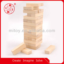 high quality custom customized classic game giant wooden jenga toys