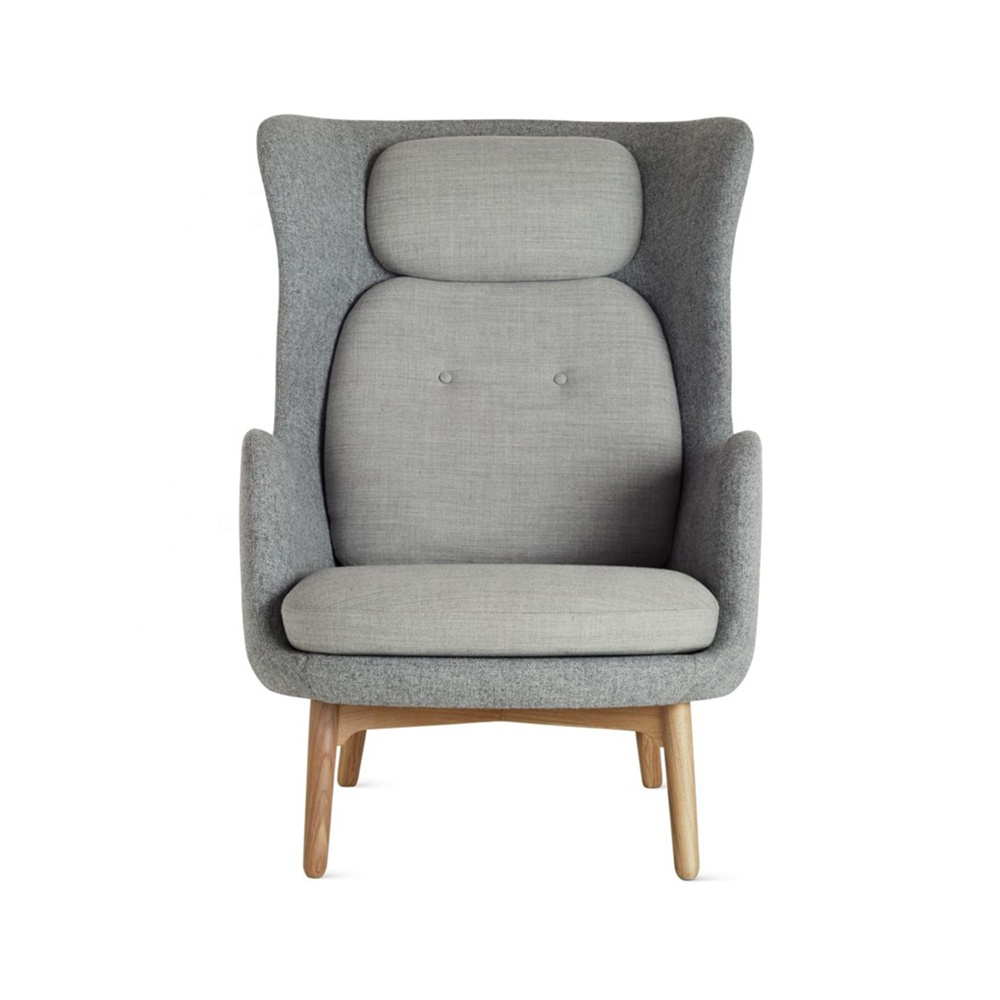 Mid-century modern comfortable light grey cashmere lounge chair high back lounge chair  sc 1 st  Alibaba & Mid-century Modern Comfortable Light Grey Cashmere Lounge Chair High ...
