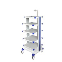 Aluminum Mobile Medical Cart With Wheels
