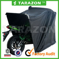 China wholesale waterproof folding garage motorcycle cover set