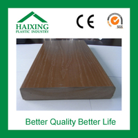 wood plastic floor boards for sale decking CE,SGS,ani-UV for flooring wood plastic