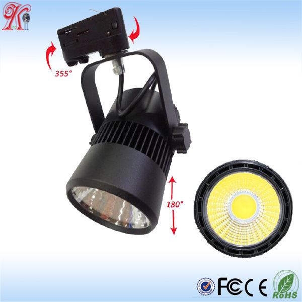 30w led track lighting 3 circuit 3 circuit dimmable led track light 3 circuit 4 Wire Track