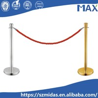 simple Barriers management system queue stand line rope stanchion