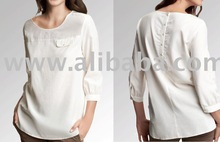 tunic top design in 100% bamboo or organic fabric