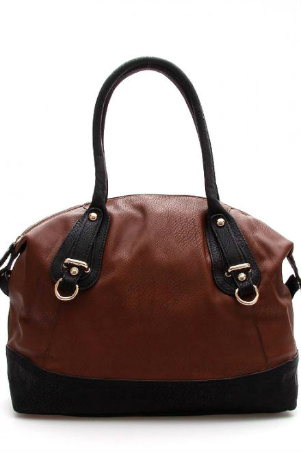 Cool equestrian inspired tote bag with contrast trim detail from Berramore